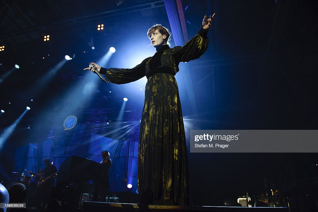 Florence Welch of Florence and the Machine performs at Zenith on November 22, 2012 in Munich, Germany.