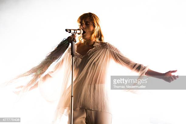 Florence Welch of Florence and the Machine performs during day 1 of Southside Festival on June 19 2015 in Neuhausen Germany