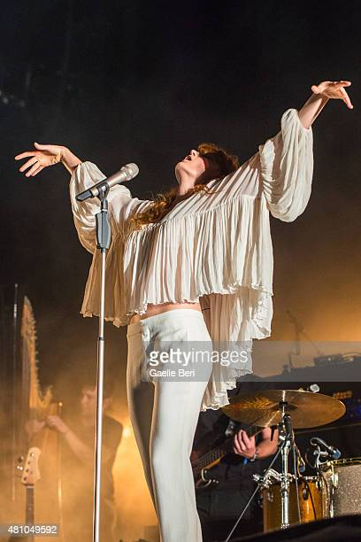 Florence Welch of Florence and the Machine performs live at FIB on July 16 2015 in Benicassim Spain