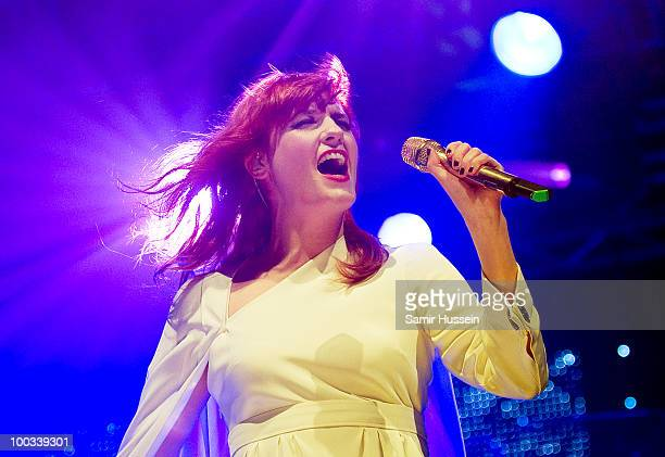 Florence Welch of Florence and the Machine performs on day 1 of Radio 1's Big Weekend on May 22 2010 in Bangor Wales