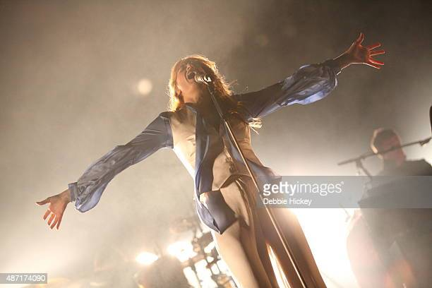Florence Welch of Florence and the Machine performs on day 3 of the Electric Picnic Festival at Stradbally Hall Estate on September 6 2015 in...