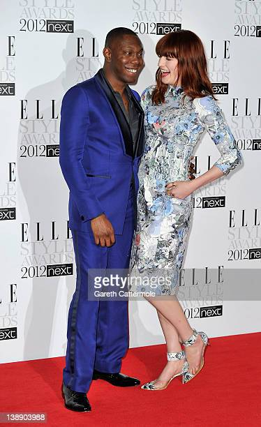 Florence Welch poses in the press room with the Best Music Act award during with Dizzee Rascal The Elle Style Awards 2012 at The Savoy Hotel on...
