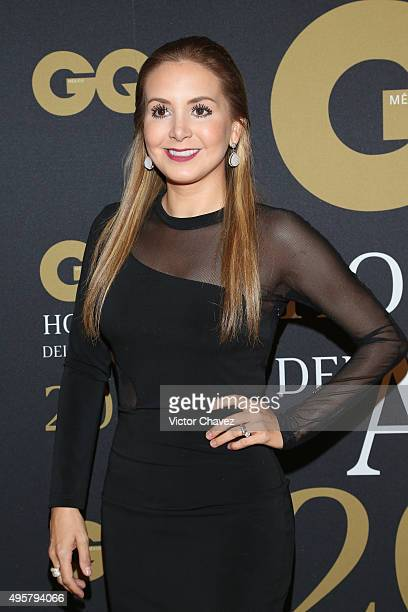 Florencia de Saracho attends the GQ Mexico Men of The Year 2015 awards at Live Aqua Bosques hotel on November 4 2015 in Mexico City Mexico