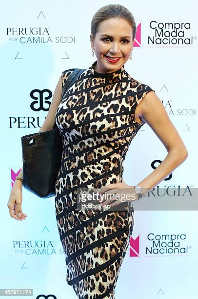 Florencia de Saracho attends the red carpet of Perugia Collection by Camila Sodi at Hotel W on August 04 2015 in Mexico City Mexico