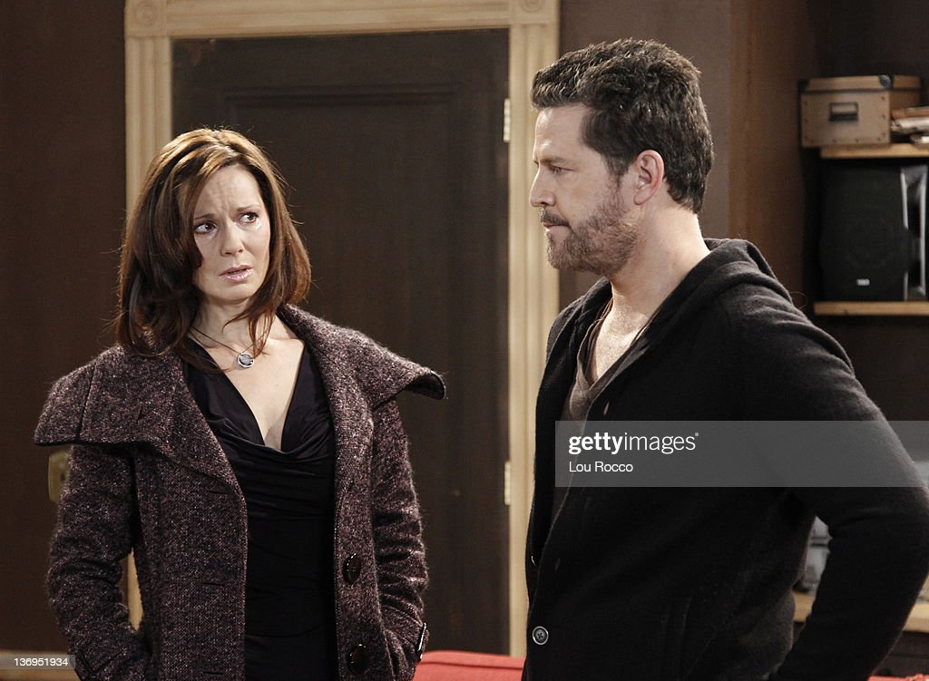 LIVE - Florencia Lozano (Tea) and Ted King (Tomas) in a scene that airs the week of January 9, 2012 on ABC Daytime's 'One Life to Live.' 'One Life to Live' airs Monday-Friday (2:00 p.m. - 3:00 p.m., ET) on the ABC Television Network. KING