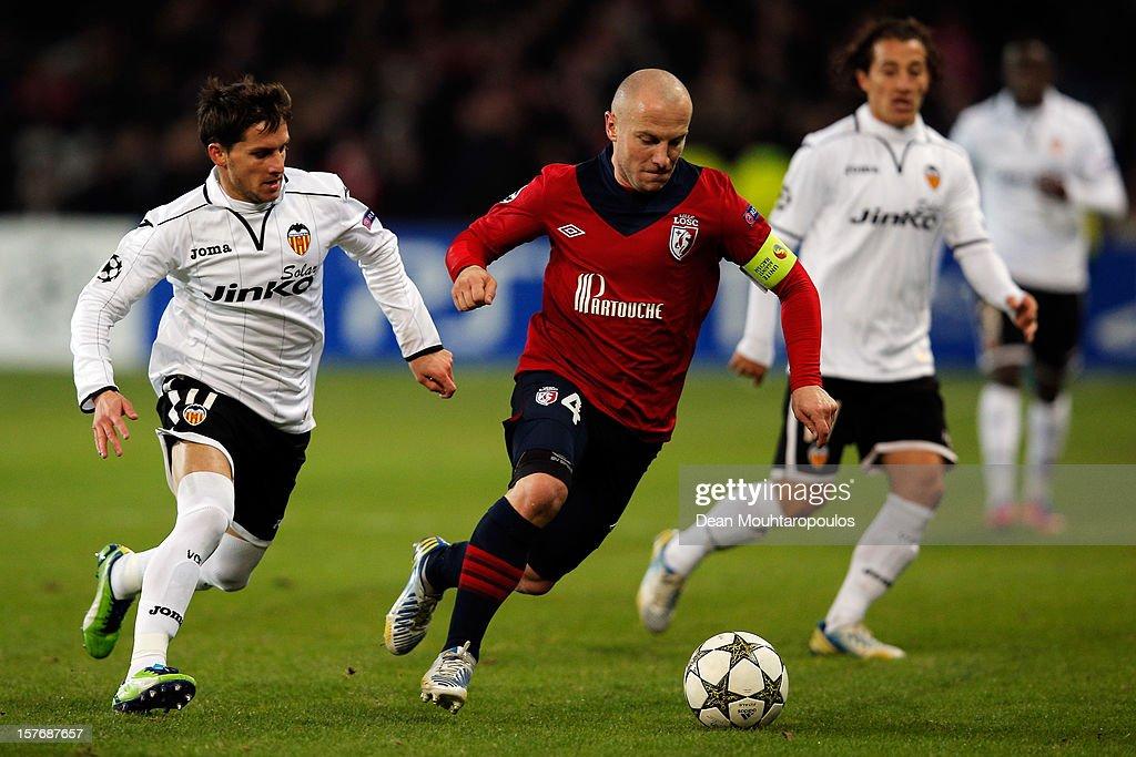 OSC Lille v Valencia - UEFA Champions League