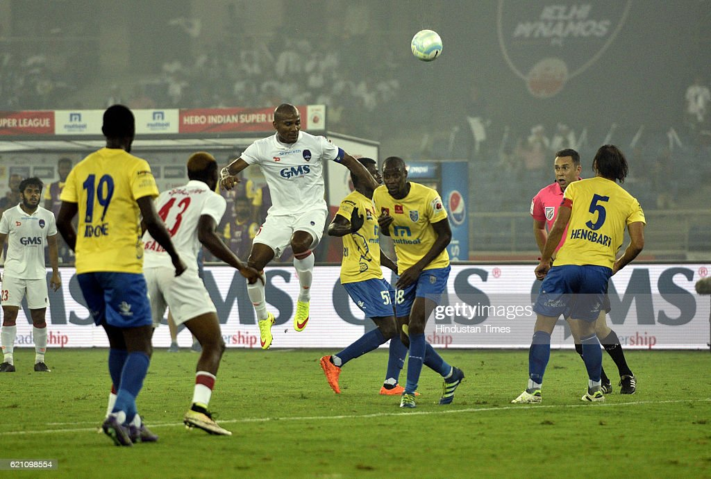 ISL Match : Delhi Dynamos FC Vs Kerala Blaster FC : News Photo