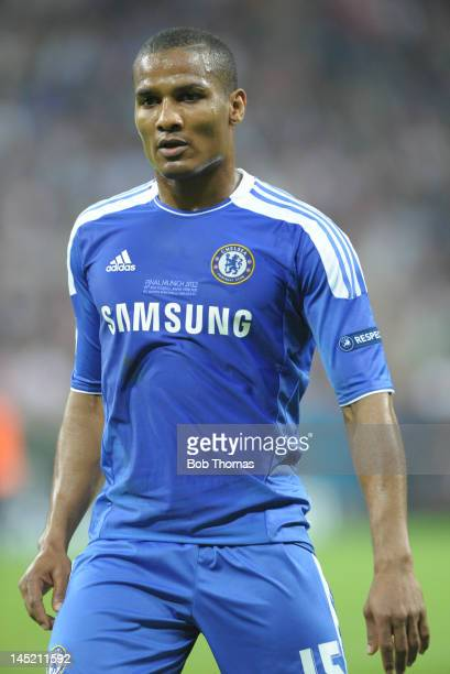 Florent Malouda in action for Chelsea during the UEFA Champions League Final between FC Bayern Munich and Chelsea at the Fussball Arena Munich on May...