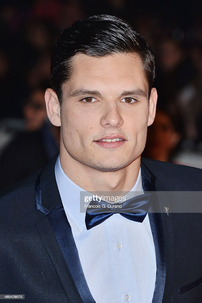 <a gi-track='captionPersonalityLinkClicked' href=/galleries/search?phrase=Florent+Manaudou&family=editorial&specificpeople=6567518 ng-click='$event.stopPropagation()'>Florent Manaudou</a> arrives at the 16th NRJ Music Awards at Palais des Festivals on December 13, 2014 in Cannes, France.