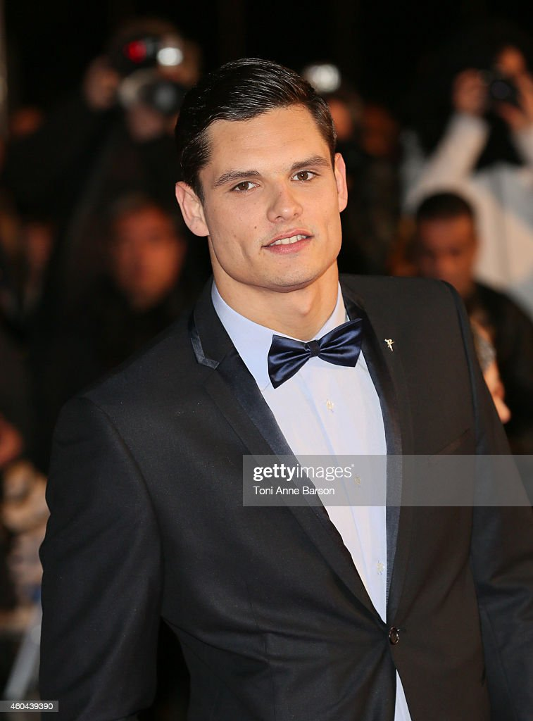 <a gi-track='captionPersonalityLinkClicked' href=/galleries/search?phrase=Florent+Manaudou&family=editorial&specificpeople=6567518 ng-click='$event.stopPropagation()'>Florent Manaudou</a> arrives at the 16th NRJ Music Awards at the Palais des Festivals on December 13, 2014 in Cannes, France.