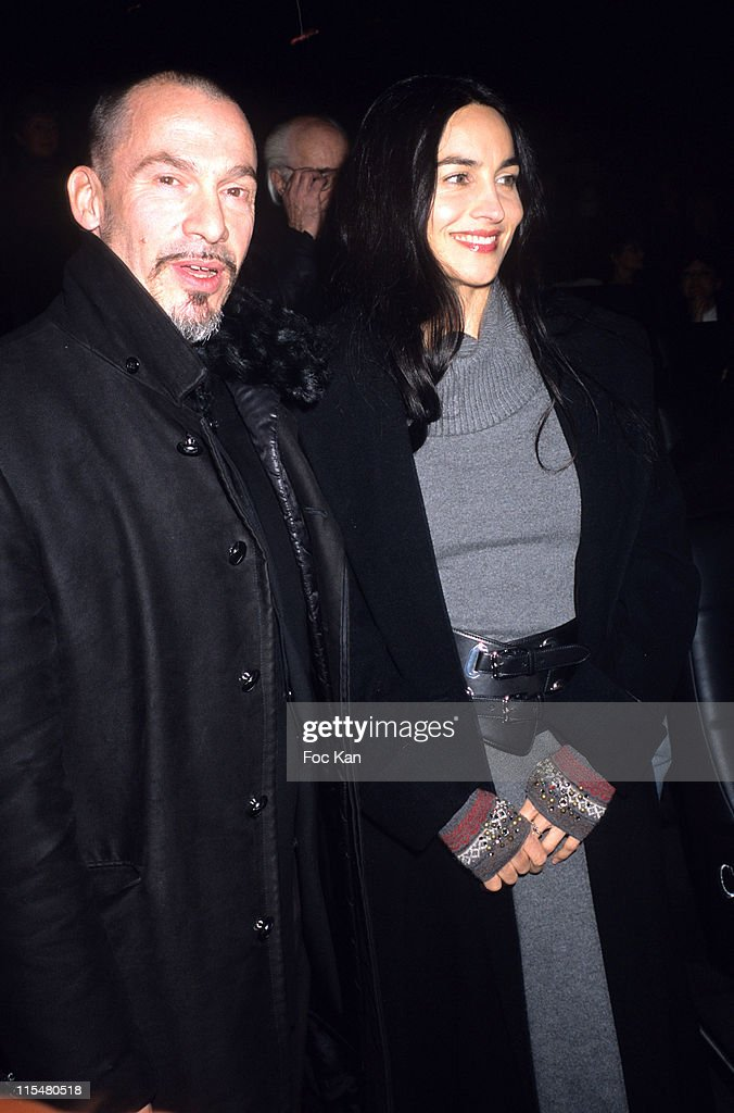 Florent Pagny and Azucena during 2nd International Latin Film Festival December 12 2006 at Cinema Publicis Champs Elysees in Paris France
