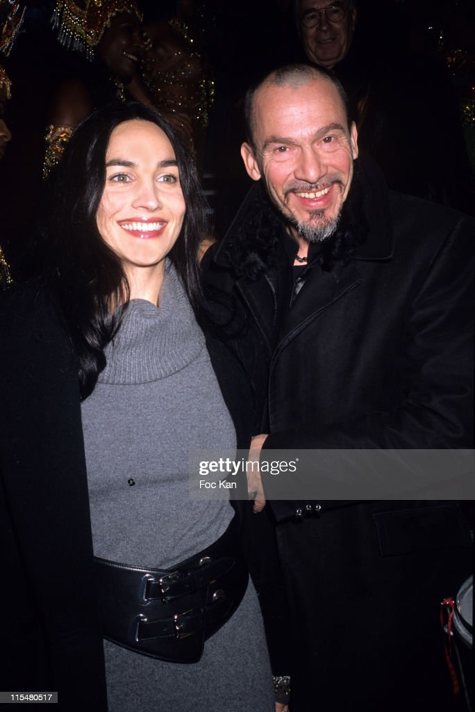 Florent Pagny and Wife Azucena during 2nd International Latin Film Festival December 12 2006 at Cinema Publicis Champs Elysees in Paris France