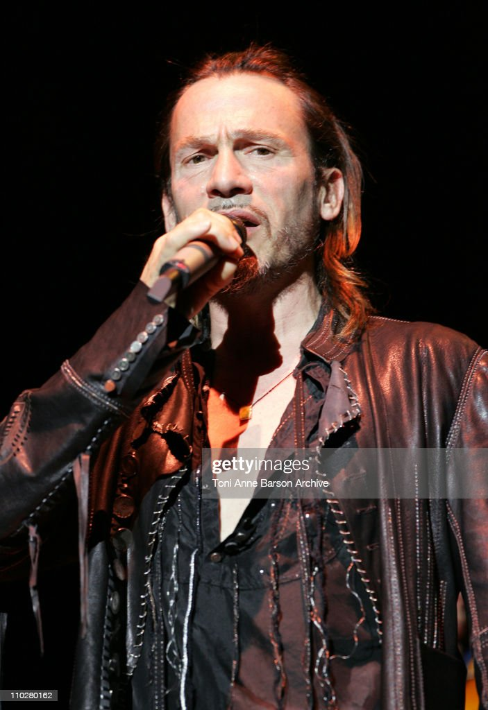 Florent Pagny during Florent Pagny in Concert at Nikaia in Nice October 14 2005 at Nikaia in Nice France