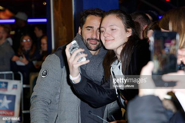 Florent Peyre attends 'RAID Dingue' premiere at Kinepolis of Lomme near Lille on December 20 2016 in Lomme France