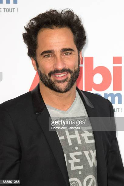 Florent Peyre attends the 'Alibicom' Paris Premiere at Cinema Gaumont Opera on January 31 2017 in Paris France