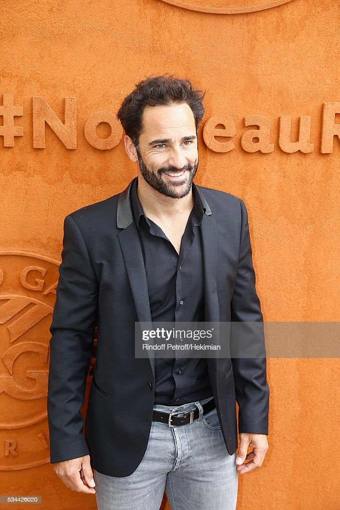 Florent Peyre attends the French Tennis Open Day Five at Roland Garros on May 26, 2016 in Paris, France.