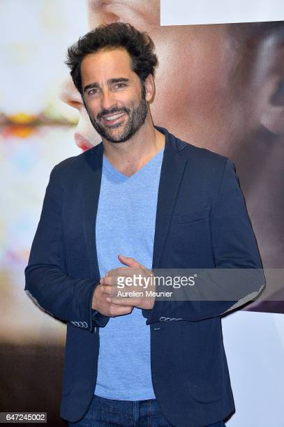 Florent Peyre attends the 'La Confession' Paris premiere at UGC Cine Cite des Halles on March 2 2017 in Paris France