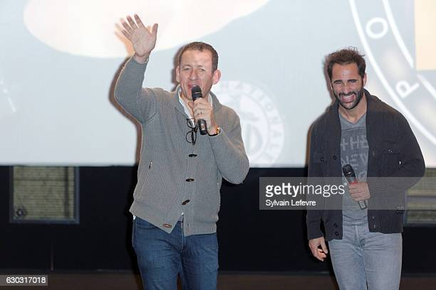 Florent Peyre Dany Boon attend 'RAID Dingue' premiere at Kinepolis of Lomme near Lille on December 20 2016 in Lomme France