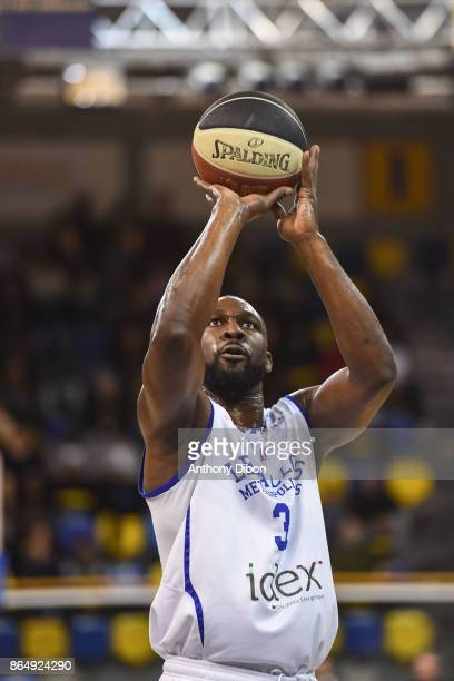 Florent Pietrus of Levallois during the Pro A match between Levallois Metropolitans and Boulazac at Salle Marcel Cerdan on October 21 2017 in Paris...
