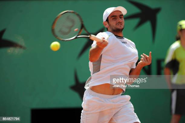 Florent SERRA Roland Garros 2009 Paris