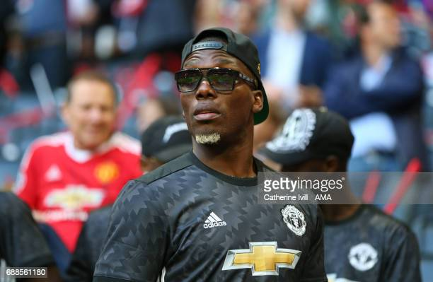 Florentin Pogba brother of Paul Pogba of Manchester United during the UEFA Europa League Final match between Ajax and Manchester United at Friends...