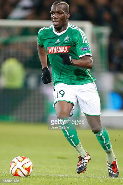 Florentin Pogba of SaintEtienne in action during the UEFA Europa League Group F match between AS SaintEtienne and FC Internazionale Milano on...