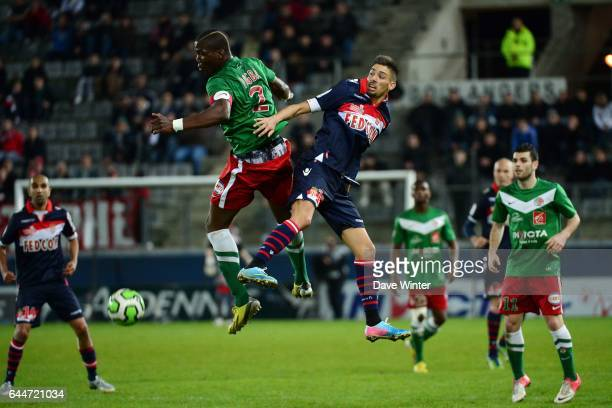 Florentin POGBA / Yannick FERREIRA CARRASCO Sedan / Monaco 34eme journee de Ligue 2 Photo Dave Winter / Icon Sport