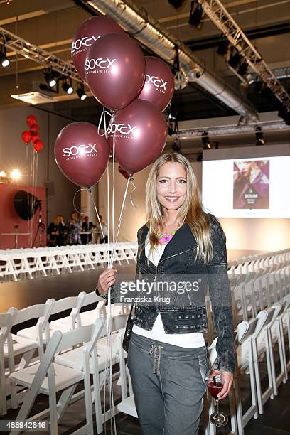 Florentine Lahme attends the 'La Boum Fashion Studio' by Soccx on September 18 2015 in Hoppegarten/ Berlin Germany