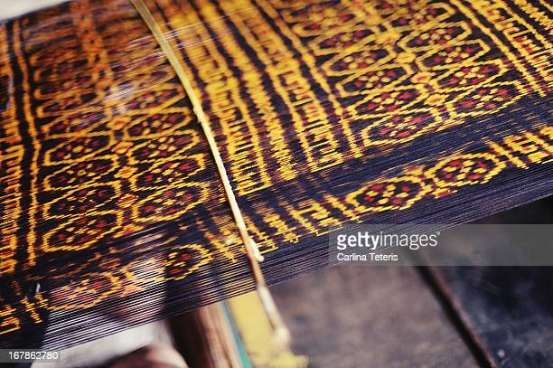 Flores traditional weaving