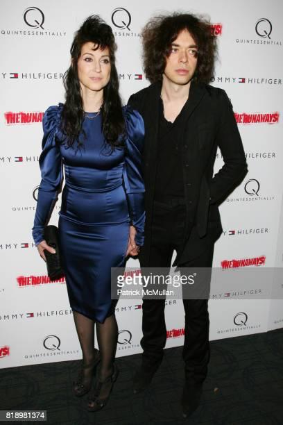 Floria Sigismondi and Lillian Berlin attend New York Premiere Screening of 'THE RUNAWAYS' at Landmark Sunshine Cinema on March 17 2010 in New York...