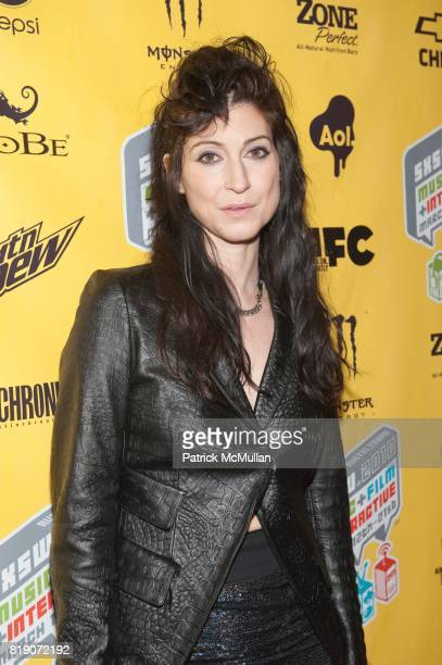 Floria Sigismondi attends The Screening of THE RUNAWAYS at SXSW at Paramount Theater on March 18 2010 in Austin TX