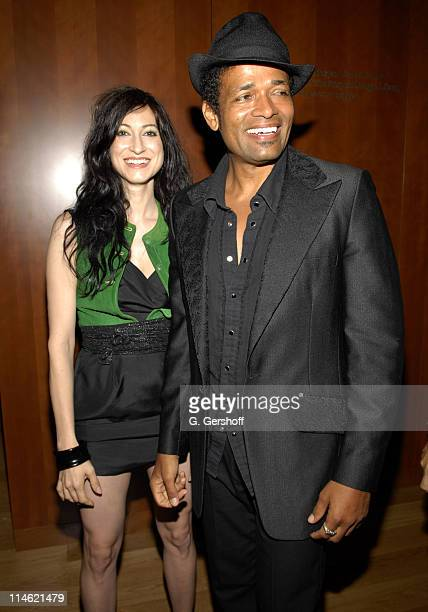 Floria Sigismondi director and Mario Van Peebles at Hermes and Turner Classic Movies Host Behind the Camera The Shorts Circuit