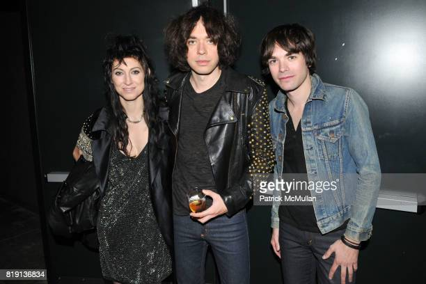 Floria Sigismondi Lillian Berlin and Yves Berlin attend THE RUNAWAYS A Gallery Event with FLORIA SIGISMONDI to Benefit STAND UP FOR KIDS at Good...
