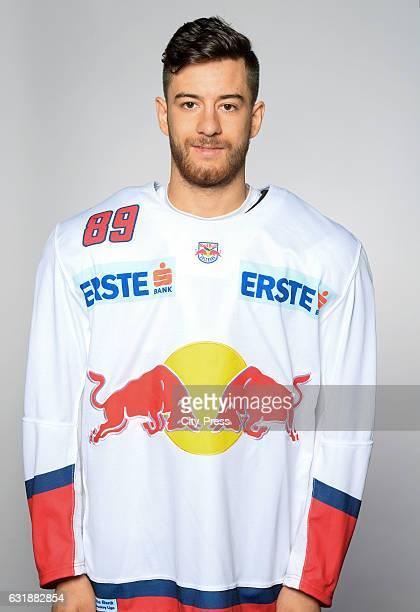 Florian Baltram of EC Red Bull Salzburg during the portrait shot September 16 2016 in Salzburg Austria