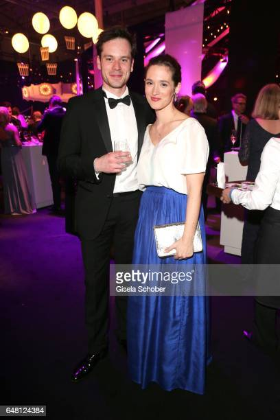 Florian Bartholomaei and Friederike Becht during the Goldene Kamera after show party at Messe Hamburg on March 4 2017 in Hamburg Germany