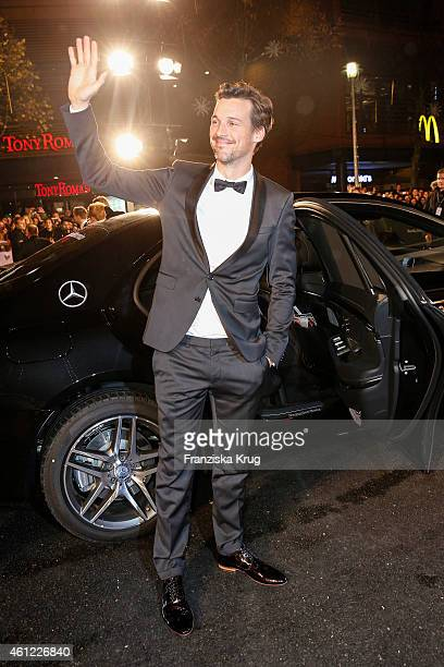 Florian David Fitz arrives at the Bambi Awards 2014 on November 13 2014 in Berlin Germany