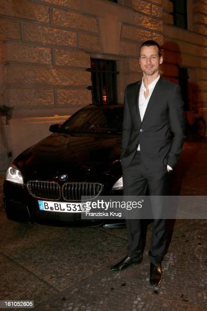 Florian David Fitz arrives at the 'Festival Night by Bunte and BMW' at the 63rd Berlinale International Film Festival at the Humboldt Carre on...