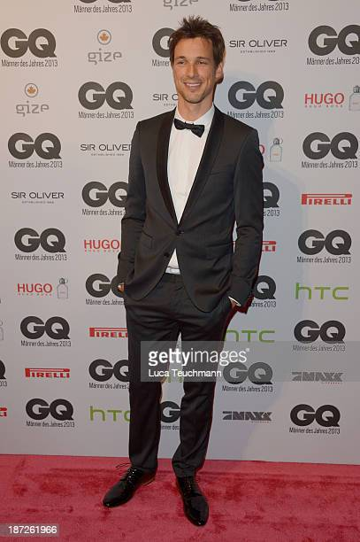 Florian David Fitz arrives at the GQ Men of the Year Award at Komische Oper on November 7 2013 in Berlin Germany