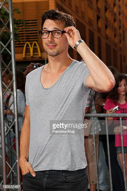 Florian David Fitz attends the 'First Step Awards 2012' in the Stage Theater Potsdamer Platz on August 20 2012 in Berlin Germany