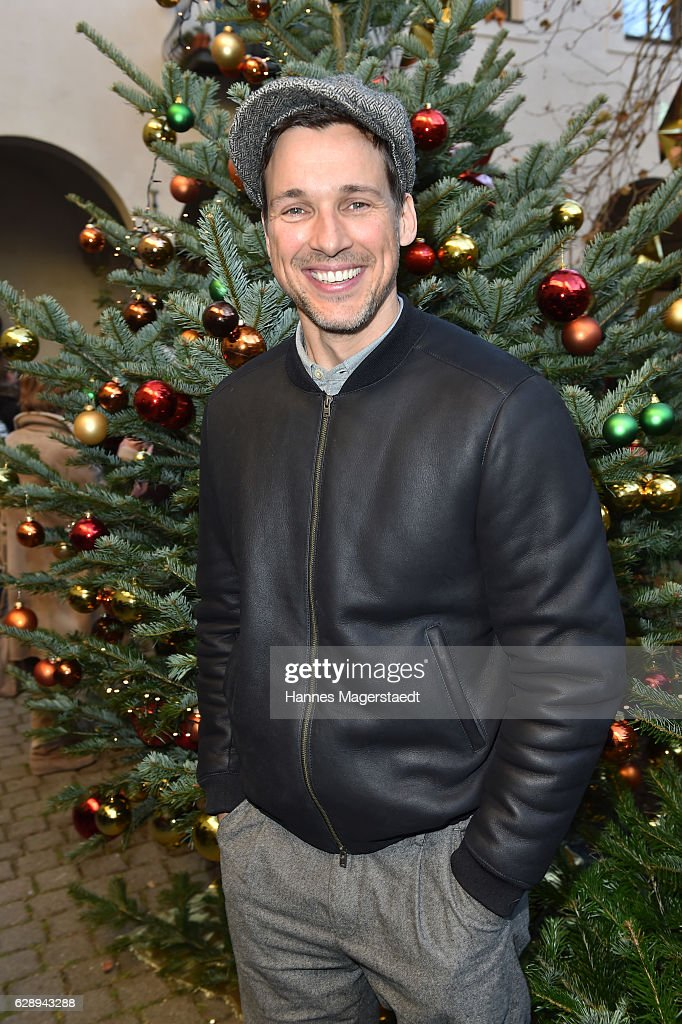 Florian David Fitz during the 21th BMW advent charity concert at Jesuitenkirche St. Michael on December 10, 2016 in Munich, Germany.