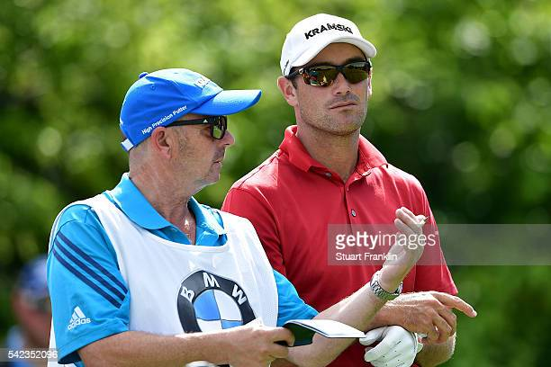 Florian Fritsch of Germany looks on during the first round of the BMW International Open at Gut Larchenhof on June 23 2016 in Cologne Germany