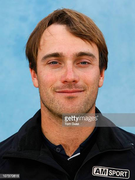 Florian Fritsch of Germany poses for a portrait photo during the continuation of the first round of the European Tour Qualifying School Final Stage...