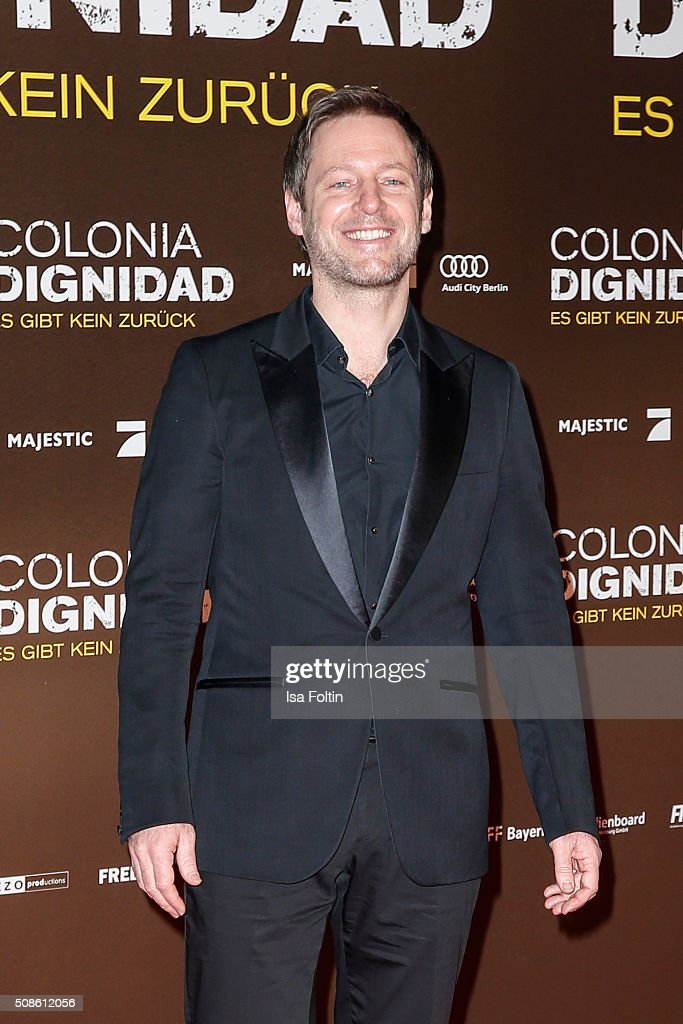 Florian Gallenberger attends the 'Colonia Dignidad - Es gibt kein zurueck' Berlin Premiere on February 05, 2016 in Berlin, Germany.