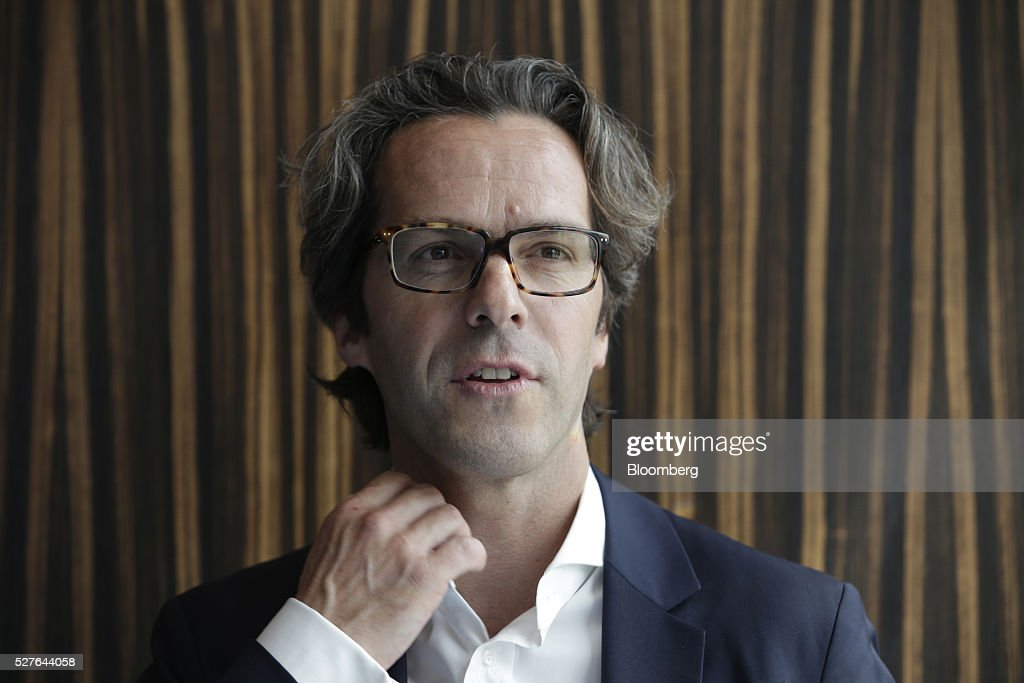 Florian Hellmich, chief executive officer of Pomegranate Investment AB, poses for a photograph during the Europe-Iran Forum in Zurich, Switzerland, on Tuesday, May 3, 2016. The U.S., Russia and European countries in January lifted a series of economic sanctions in exchange for Iran's agreement to curb its nuclear activities. Photographer: Matthew Lloyd/Bloomberg via Getty Images