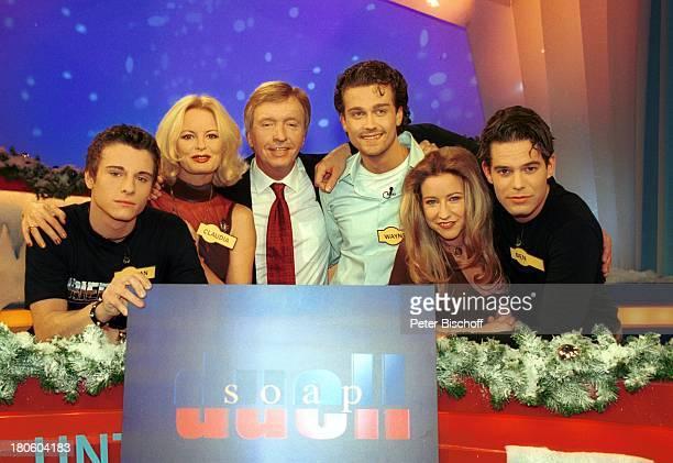 Florian Jahr Claudia Neidig Moderator Werner SchulzeErdel Wayne Carpendale Isabell Hertel Ben Ruediger RTL'Unter Uns' RTLShow 'SoapDuell' Weihnachten...