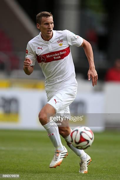 Florian Klein Fussball Bundesliga Saison 2014/2015 Vorbereitung Testspiel VFB Stuttgart vsHull City Tigers
