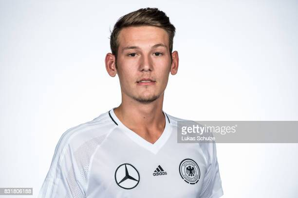 Florian Kliegel poses at Sport School Wedau on August 11 2017 in Duisburg Germany