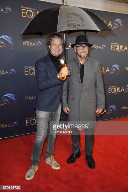 Florian Langenscheidt Jochen Schweizer during the world premiere of the horse show 'EQUILA' at Apassionata Showpalast Muenchen on November 5 2017 in...