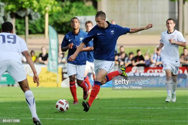 Florian LEJEUNE France U20 / Etats Unis Amical Vichy