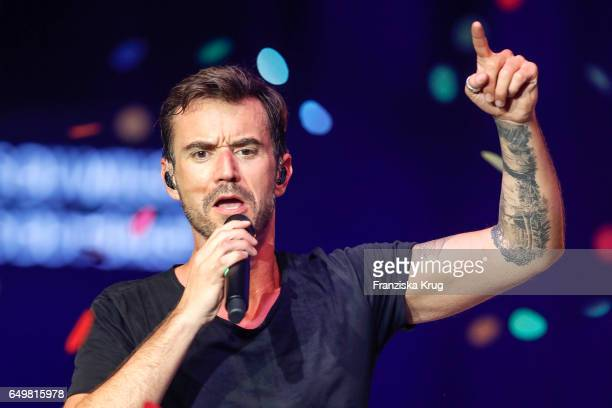 Florian Silbereisen performs on stage during the music show 'Das grosse Schlagerfest Die Party des Jahres' on March 8 2017 in Hof Germany